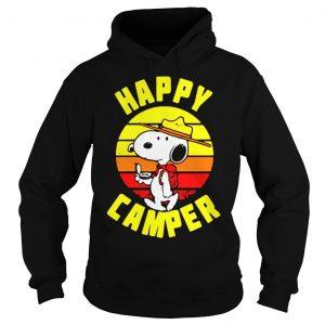 Peanuts Snoopy Happy Camper Vintage shirt Hoodie
