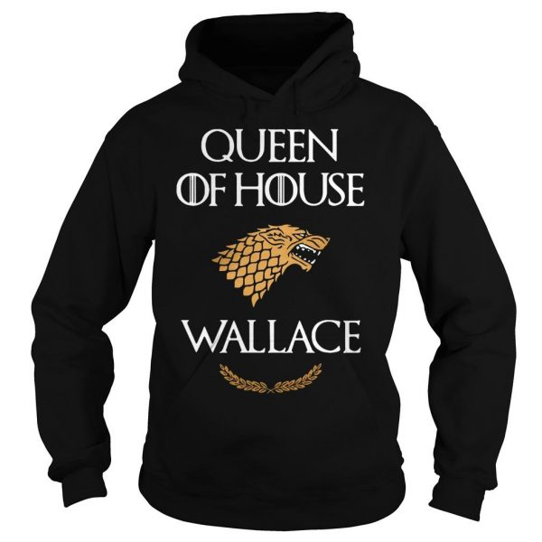 Queen house wallace game thrones v neck tshirt Hoodie