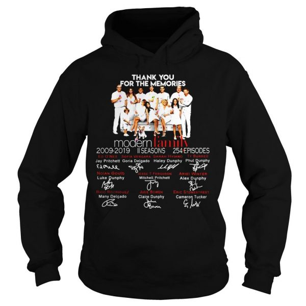 Thank you for the memories Family shirt Hoodie