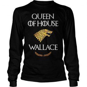 Queen house wallace game thrones shirt Longsleeve Tee Unisex