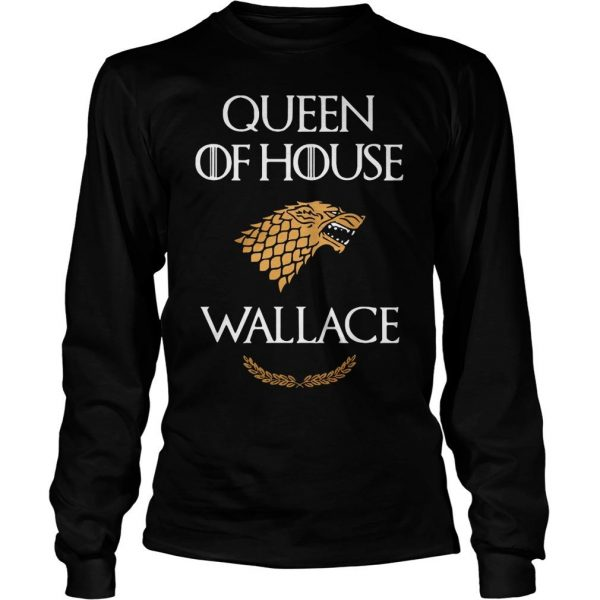 Queen house wallace game thrones v neck tshirt Longsleeve Tee Unisex