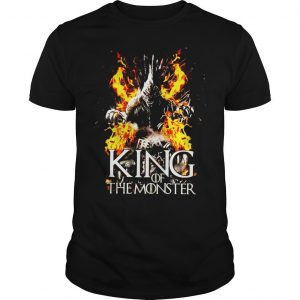 Game Of Thrones Godzilla King of the monster shirt
