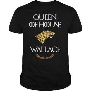 Queen house wallace game thrones shirt