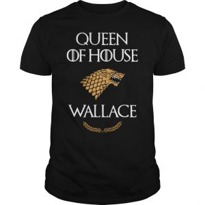 Queen house wallace game thrones v neck tshirt