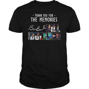 Thank you for the memories Bubul Bill Buckner 1949 2019 shirt