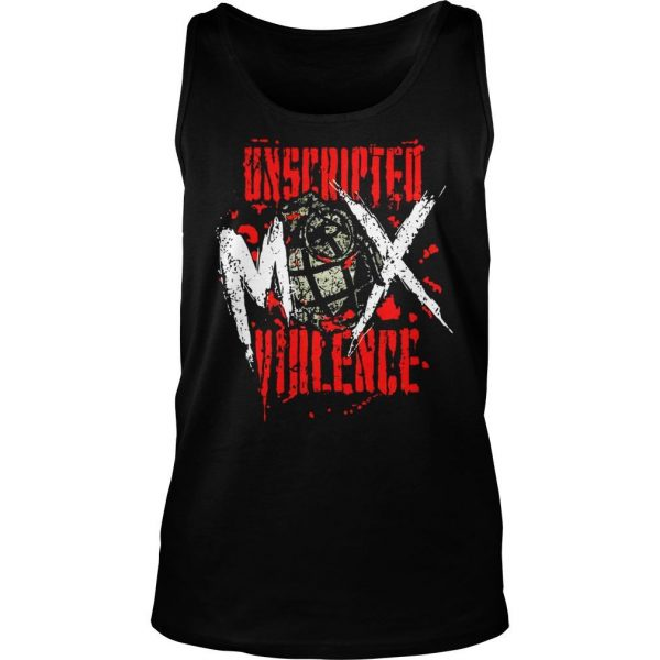 Jon Moxley Uned Mox Violence Shirt TankTop