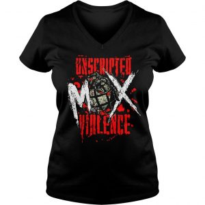 Jon Moxley Uned Mox Violence Shirt Ladies V-Neck