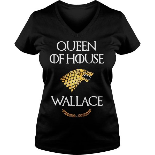Queen house wallace game thrones shirt Ladies V-Neck