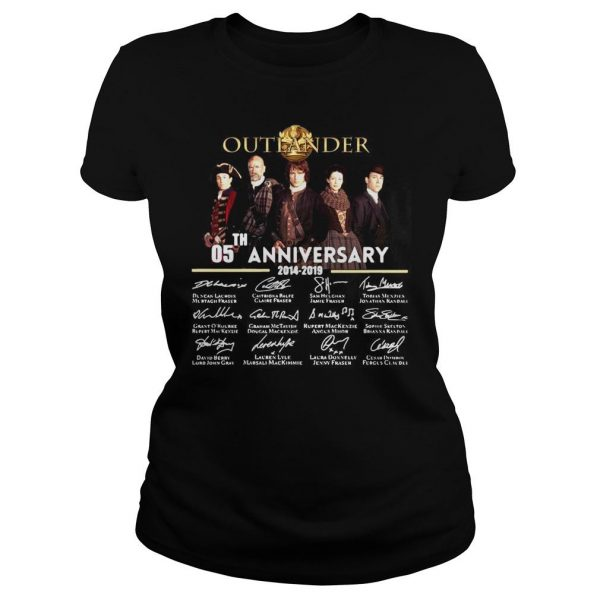 05th Anniversary Outlander Signature Shirt Classic Ladies Tee