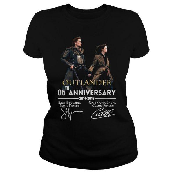 05th anniversary outlander shirt Classic Ladies Tee