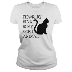 Thackery Binx is my spirit animal cat shirt Classic Ladies Tee
