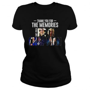 Thank you for the memories 1967 2019 Beth Chapman shirt Classic Ladies Tee