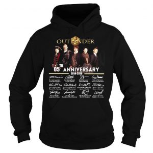 05th Anniversary Outlander Signature Shirt Hoodie