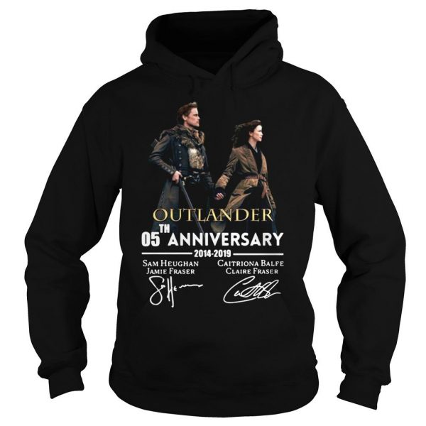 05th anniversary outlander shirt Hoodie