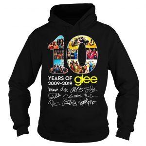 10 years of Glee 2009 2019 shirt Hoodie