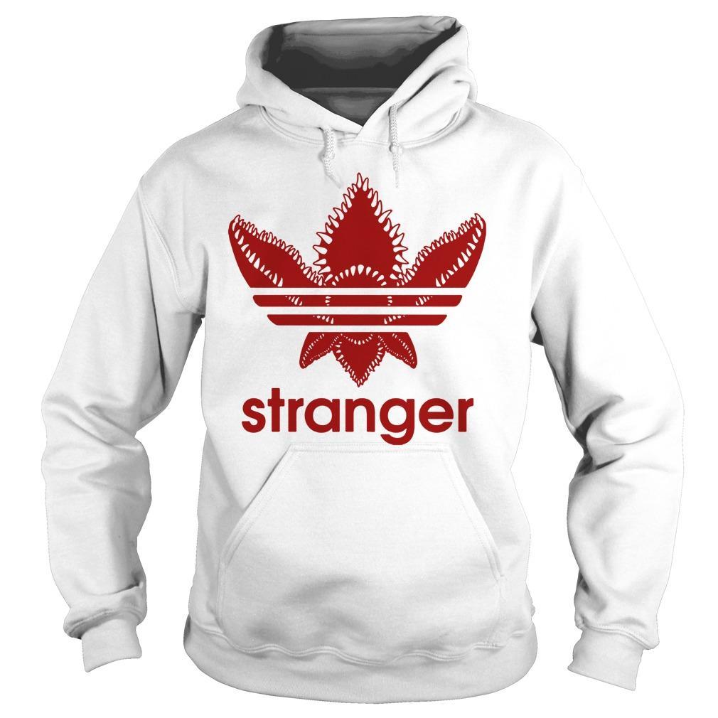Stranger things adidas demogorgon shirt