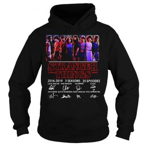 Thank You For The Memories Stranger Things 2016 2019 Shirt Hoodie