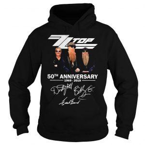 ZZ Top 50th anniversary 1969 2019 shirt Hoodie