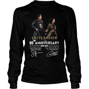 05th anniversary outlander shirt Longsleeve Tee Unisex
