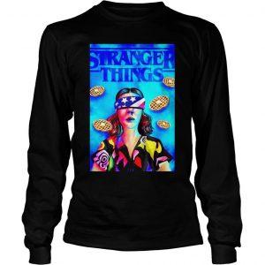 Stranger Things season 3 Eleven Chapter 7 The Bite shirt Longsleeve Tee Unisex
