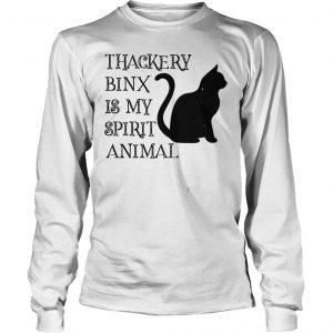 Thackery Binx is my spirit animal cat shirt Longsleeve Tee Unisex