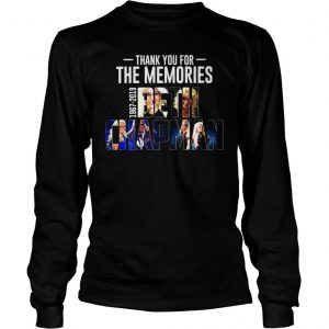 Thank you for the memories 1967 2019 Beth Chapman shirt Longsleeve Tee Unisex