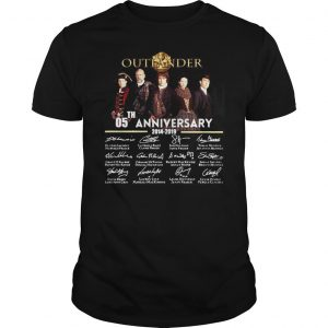 05th Anniversary Outlander Signature Shirt