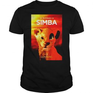 Jd McCrary is Simba The Lion King shirt
