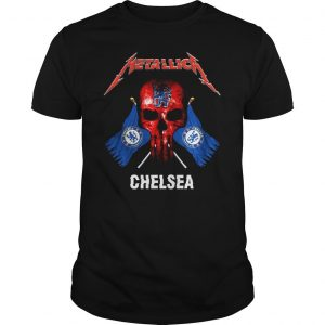 PUNISHER METALLICA CHELSEA SHIRT Shirt