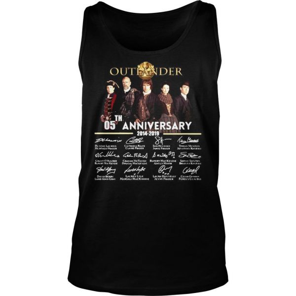05th Anniversary Outlander Signature Shirt TankTop