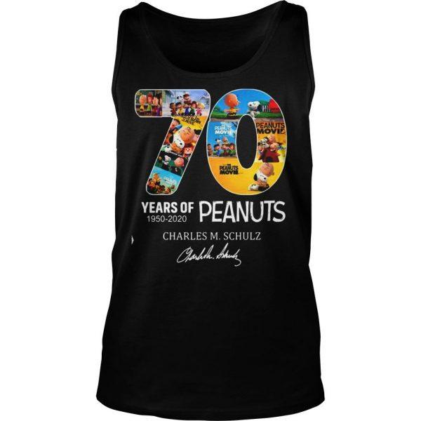 Peanuts Snoopy 70th Anniversary 19502020 shirt TankTop