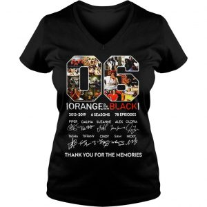 06 Orange is the new Black thank you for the memories shirt Ladies V-Neck