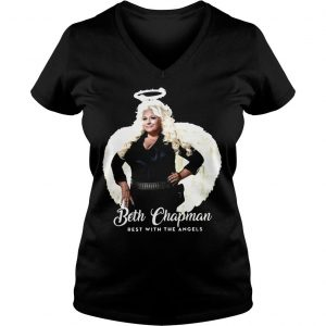 Rip Beth Chapman Rest With The Angels Shirt Ladies V-Neck