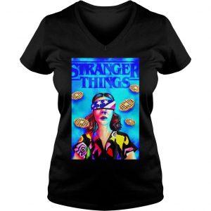 Stranger Things season 3 Eleven Chapter 7 The Bite shirt Ladies V-Neck