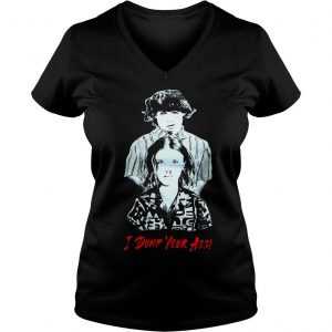 Stranger Things season 3 Eleven and Mike I dump Your ass shirt Ladies V-Neck