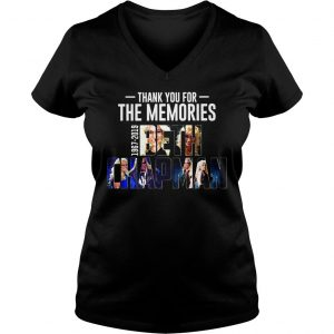 Thank you for the memories 1967 2019 Beth Chapman shirt Ladies V-Neck