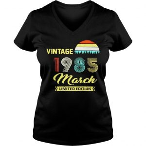 Vintage 1985 March Shirt Ladies V-Neck