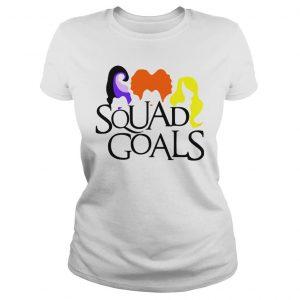 Halloween Squad Goals Shirt Classic Ladies Tee
