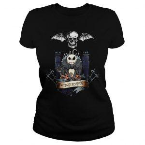 Jack Skellington Avenged Sevenfold shirt Classic Ladies Tee