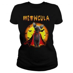Sphynx Meowcula Sphynx Cats Halloween Shirt Classic Ladies Tee