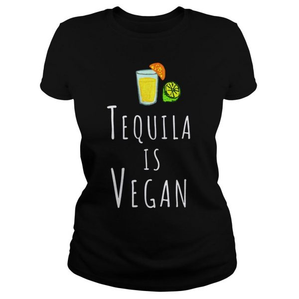 Tequila vegan veggie sweater Classic Ladies Tee