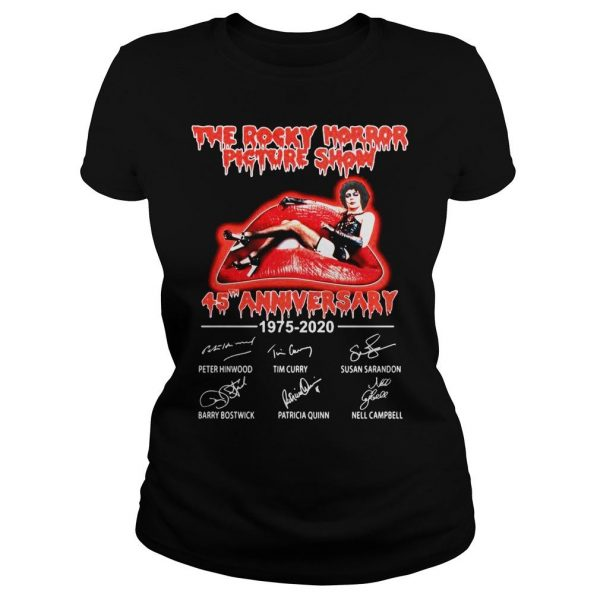 The Rocky Horror Picture Show 45th Anniversary 1975 2020 Shirt Classic Ladies Tee