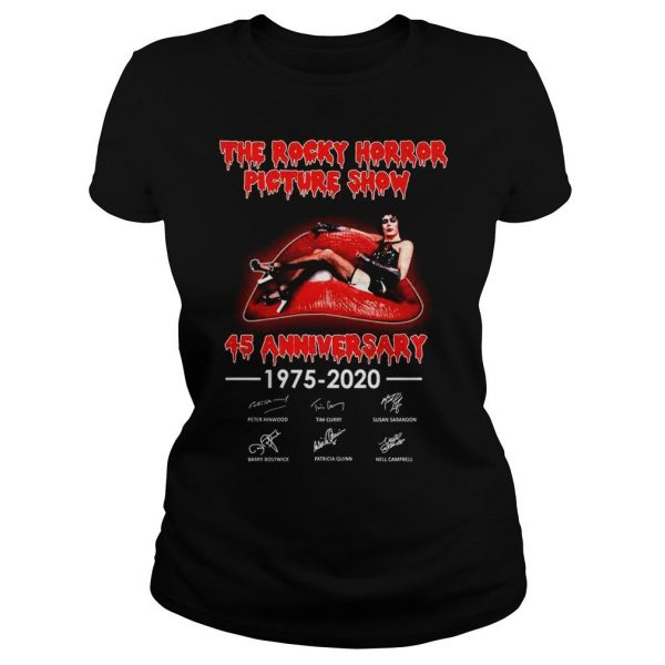 The rocky horror picture show 45 anniversary shirt Classic Ladies Tee