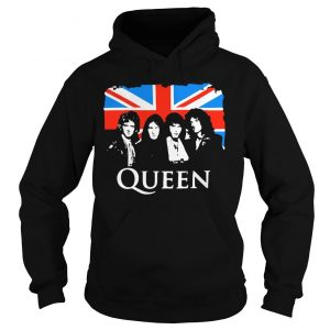 Queen and Flag of the United Kingdom of Great Britain shirt Hoodie