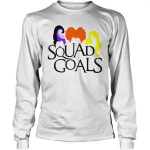 Halloween Squad Goals Shirt Longsleeve Tee Unisex