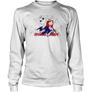 Jack Skellington and Sally Spooks Ahoy shirt Longsleeve Tee Unisex