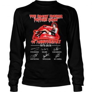 The Rocky Horror Picture Show 45th Anniversary 1975 2020 Shirt Longsleeve Tee Unisex