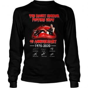 The rocky horror picture show 45 anniversary shirt Longsleeve Tee Unisex