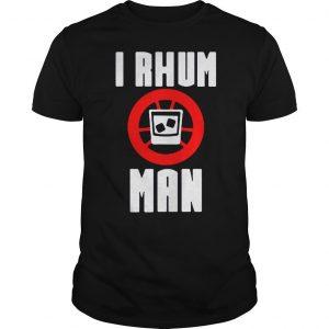 I rhum man shirt