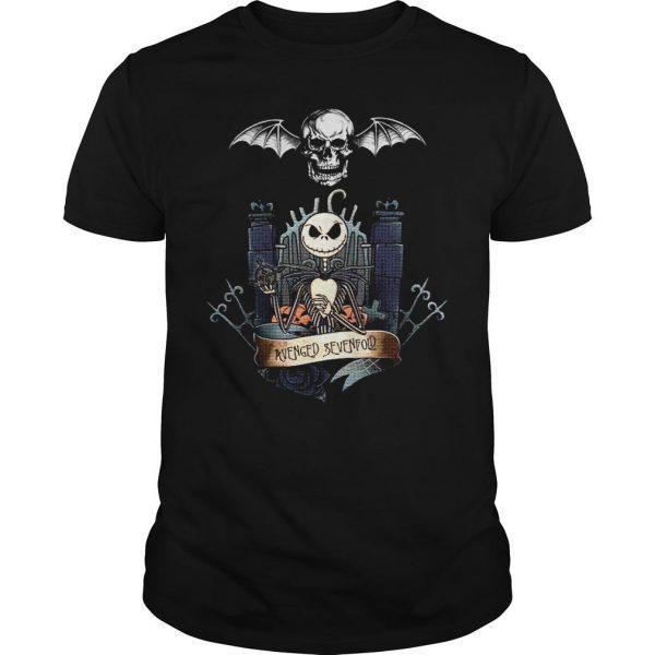 Jack Skellington Avenged Sevenfold shirt